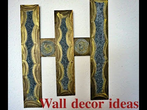 Homemade wall decoration ideas| large wall decor ideas for living room