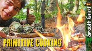 Campfire Cooking: the Primitive Bushcraft way!