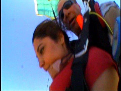 Sandra Khoubier Skydiving