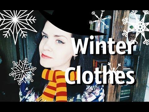 Ukrainian Vocabulary. Winter Clothes
