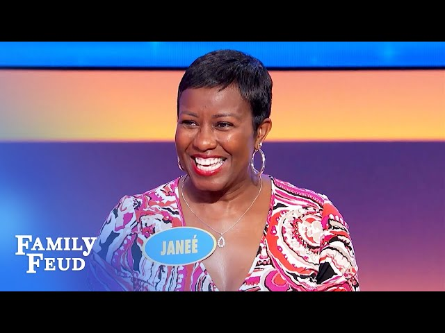 Here's why Janeé will never be Steve Harvey's realtor! | Family Feud