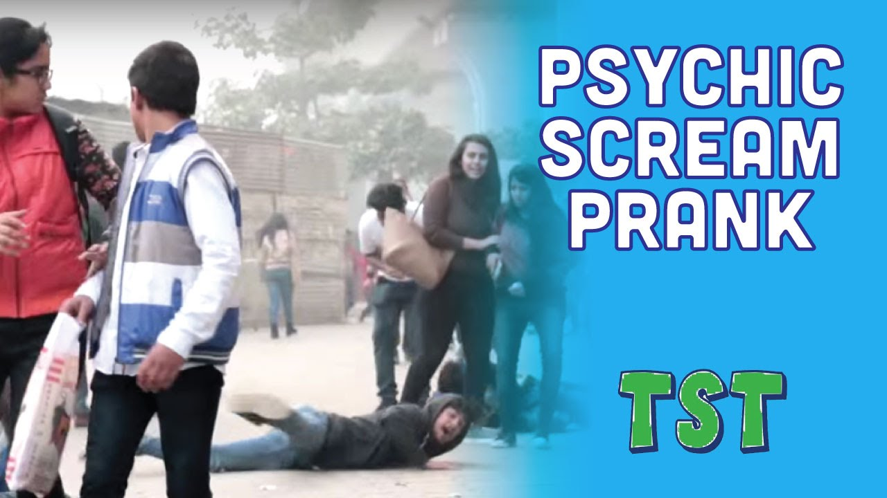 Epic Psychic Scream Prank - TroubleSeekerTeam (Pranks In India)