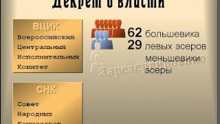 Октябрьская революция 1917 г Декреты