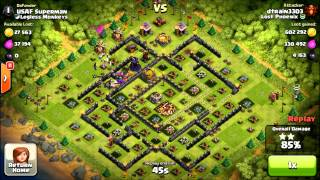 Clash of Clans - EPIC High Level Gowiwi attack - Can I 3 star?