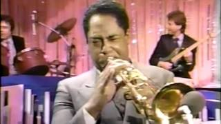 "Jack Sheldon & Jon Faddis battle it out on ""Cottontail"". 1985"