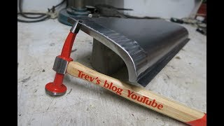 How to make your own repair panels sill fabrication beating tips and tricks #16