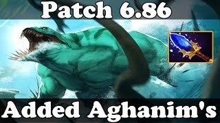 Dota 2 - Patch 6.86 Aghanim's Scepter Added to Tidehunter!