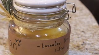 Make Homemade Lavender Hand Lotion  - Beauty - Guidecentral