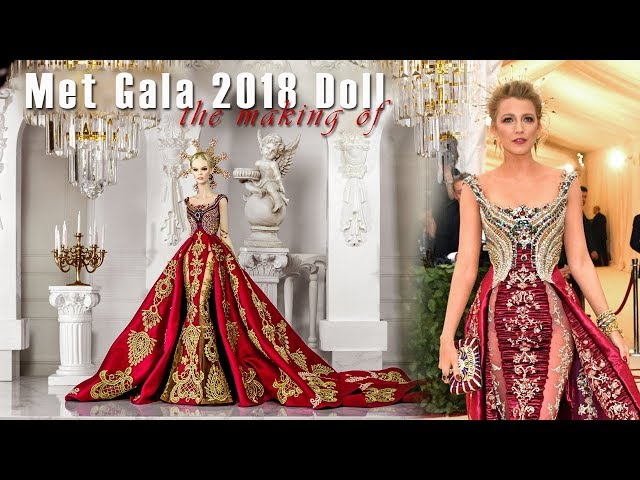 The Making of Met Gala 2018 DeMuse Doll