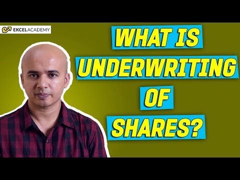 What is Underwriting of Shares ?