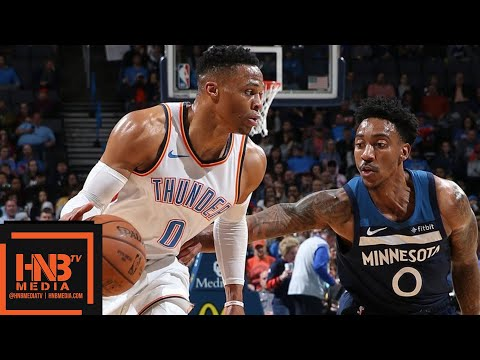 OKC Thunder vs Minnesota Timberwolves Full Game Highlights   01/08/2019 NBA Season