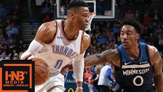OKC Thunder vs Minnesota Timberwolves Full Game Highlights | 01/08/2019 NBA Season