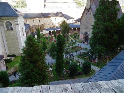 Salzburg, Austria - St. Peter's Catacombs, Graveyard & Abbey