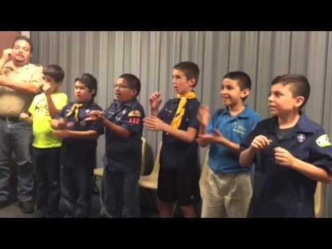 image regarding Boy Scout Oath in Sign Language Printable identify Scout Oath