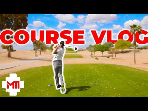 Pure Swing TV Golf Course Vlog Gabe and Blaire 2019 pt 1