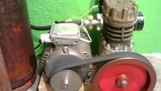 компрессор ФВ-6(Самодельный компрессорный агрегат из фреонового компрессора ФВ-6., 2012-10-27T11:49:16.000Z)