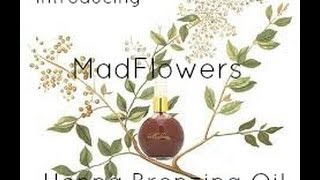 Introducing MADFLOWERS Henna Bronzing Oil with Terah Tidy