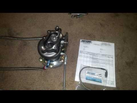 S14 SR20DET new turbo update!!! New oil feed line.