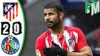 Atletico Madrid vs Getafe 2-0  All Goals  Highlight  06012018 HD
