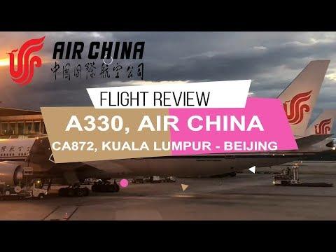 AIR CHINA PREMIUM ECONOMY KUALA LUMPUR - BEIJING | A330-300 | EXCEPTIONAL LEGROOM