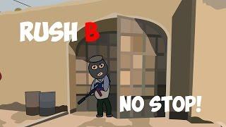 CS:GO-Cartoon. Rush ''B'' Nicht stoppen