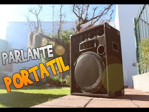 Parlante Portatil!!!! MUY FÁCIL de hacer