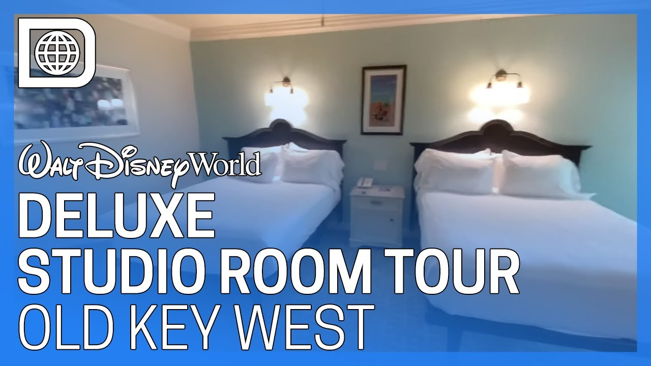 Deluxe Studio Room Tour Disney S Old Key West Resort Youtube