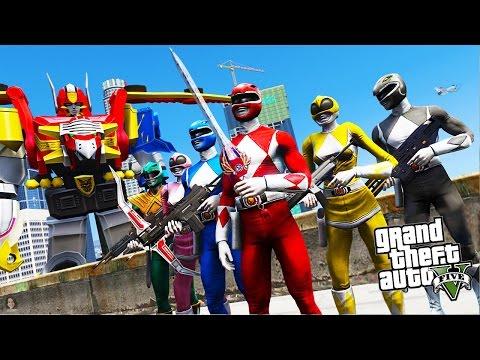 PODEMOS IR PARA O MUNDO DOS POWER RANGERS NO GTA 5?!?! (Incrivel!!!)