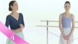 Barbie in The Pink Shoes: Dance Lesson 4: Saut  Chass - barbie movie