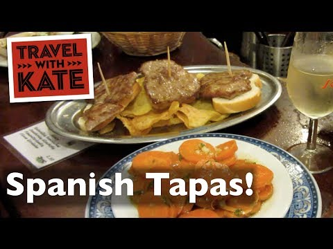 How Locals Do Tapas in Spain on Travel with Kate