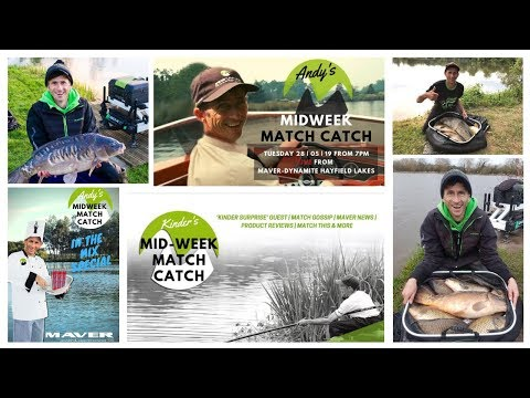 The Real Andy Kinders Tuesday Night  Match Catch | Behind The Scenes Footage | Hayfield Lakes