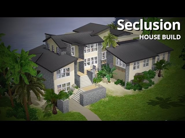 The Sims 3 House Building - Seclusion (w/ steph0sims)