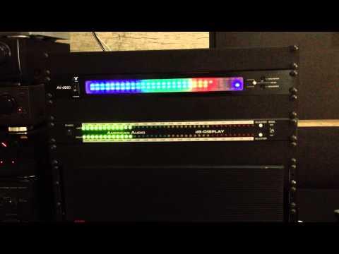 VU Meter American Audio DB & America Vocal DB60