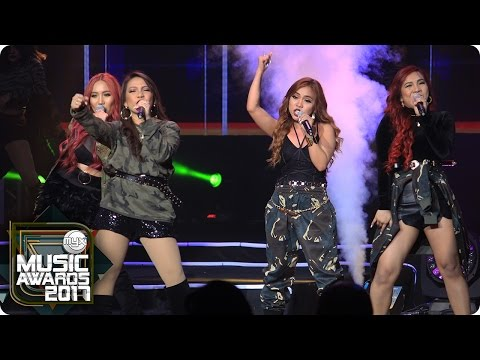 """4th Impact performs """"Unleash The Diva"""" at the MYX Music Awards 2017"""