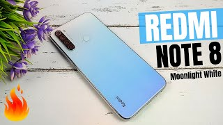 Redmi Note 8 Review in Hindi | Redmi Note 8 Moonlight White Colour Unboxing