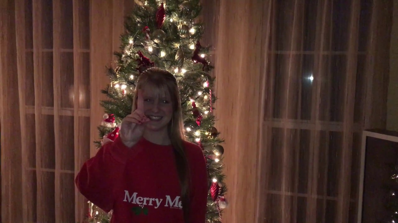 Madisigns ~ Run Run Rudolph By Luke Bryan In American Sign Language