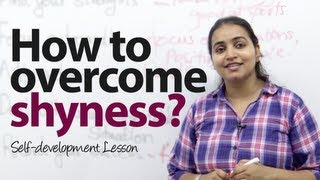 How to overcome shyness  with strangers? Public speaking & personality development video. thumbnail