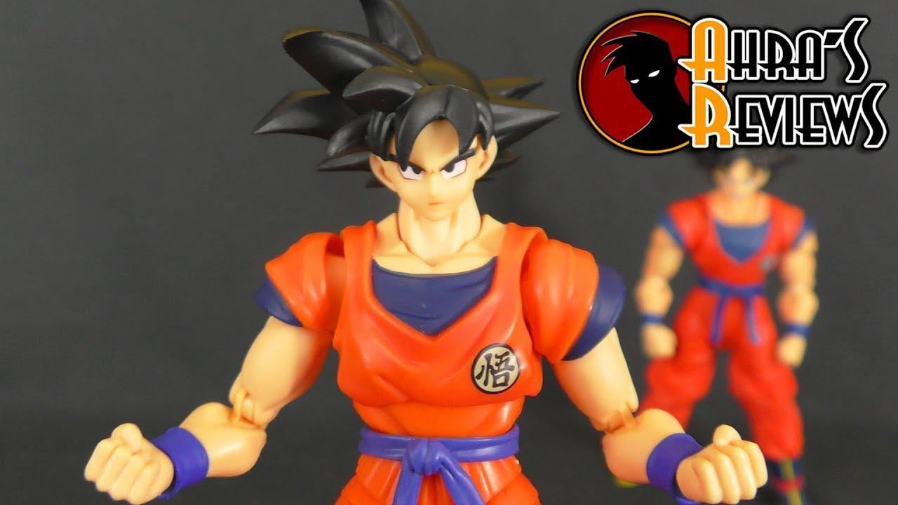 S.H Figuarts Goku Saiyan Raised Earth Figure USA Dragon Ball Z Bandai Tamashii