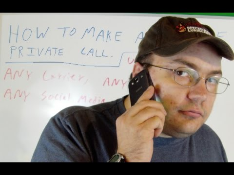 How To Make A Secure Private Call