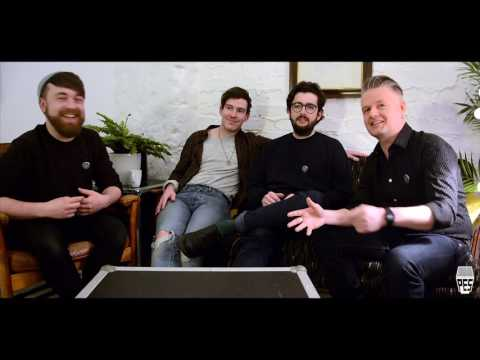Fatherson interview with Vic Galloway at Post Electric Studio, Edinburgh