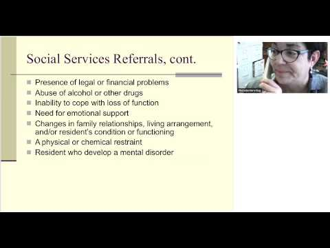 Defining the Social Work Role in Nursing Homes   (NHSW Network)