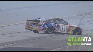 Kyle Busch Crashes In Final Practice At Atlanta