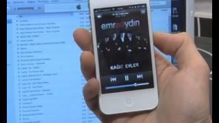 Iphone 4s e müzik nasıl yüklenir