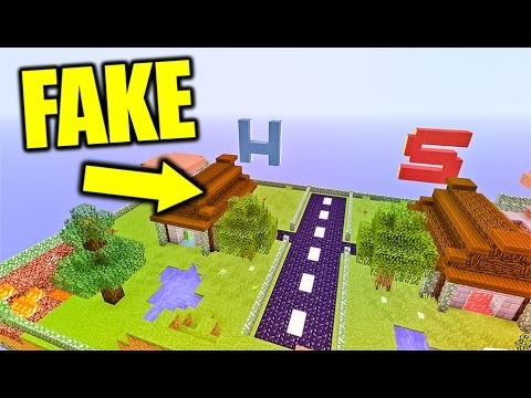 ⛔️ FAKE BATTLE ARENA ⛔️ Minecraft LUCKY BLOCK BATTLE