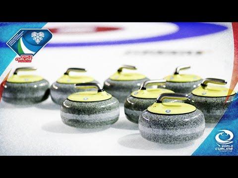 Latvia v Austria (Men) - World Junior-B Curling Championships 2017