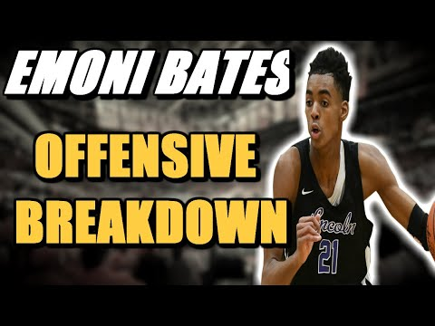 Analyzing The Offensive Skillset Of Emoni Bates | #1 Player In 2022