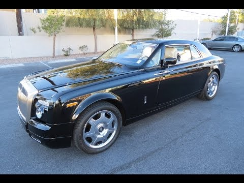 2009 Rolls-Royce Phantom Coupe Start Up, Exhaust, and In Depth Review