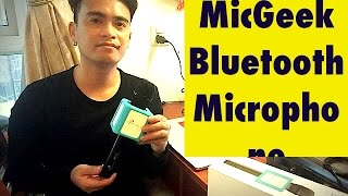 q9s dsp micgeek bluetooth microphone demo