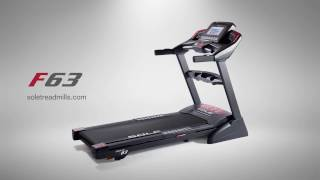 SOLE F63 Treadmill - Fitness Deals Online