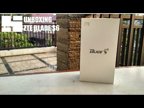 Unboxing ZTE Blade S6 indonesia